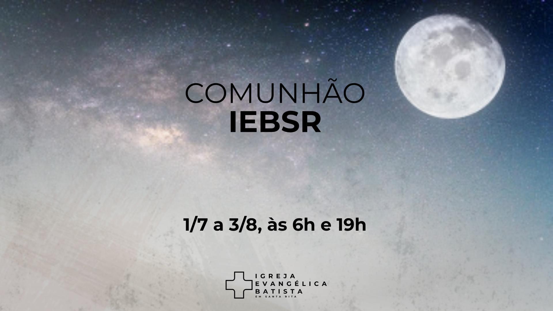 Comunhão IEBSR 1