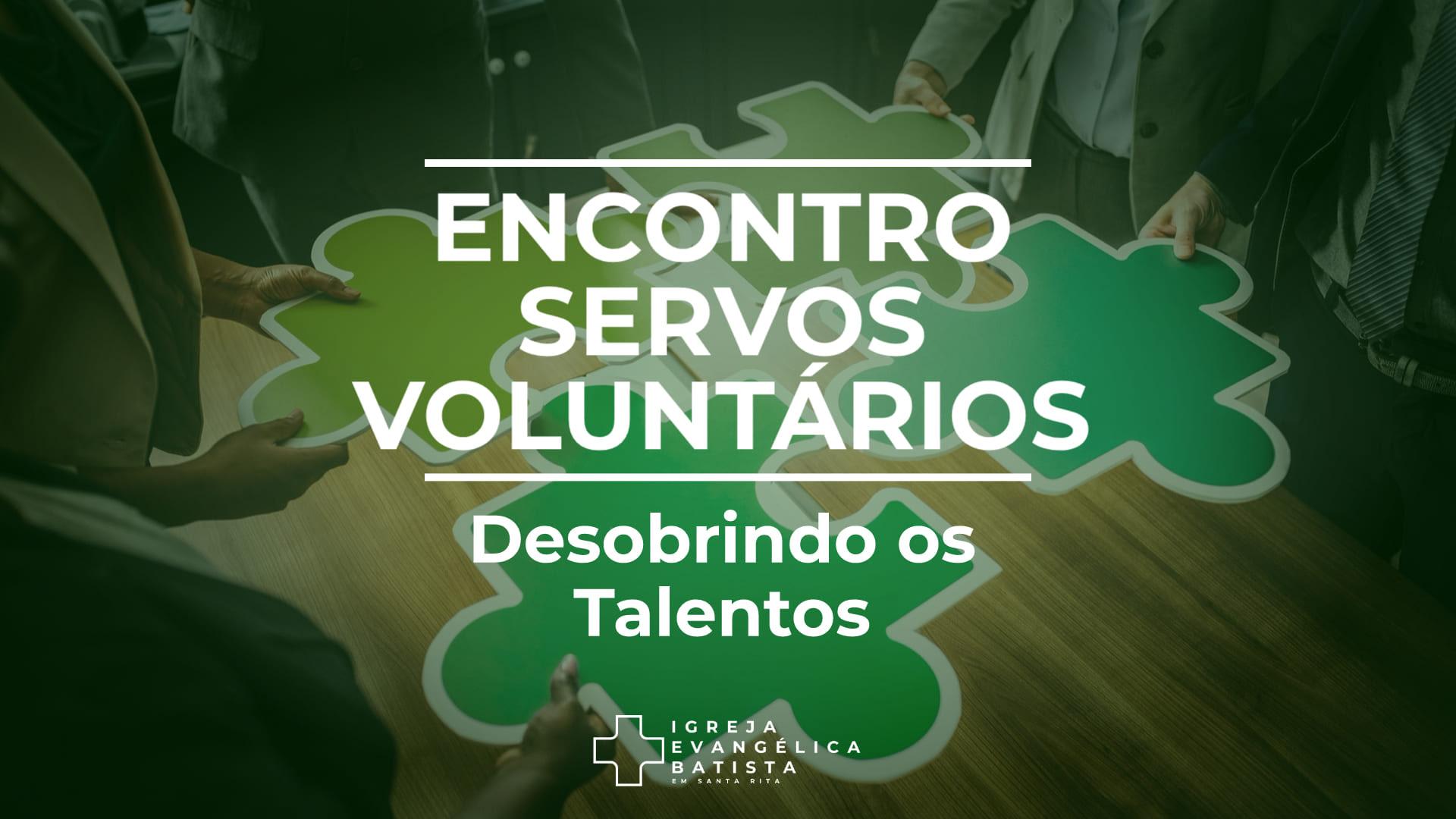 Encontro Servos Voluntários 7
